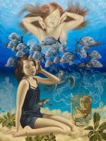 The growing-up of the Mermaid (2011) © Michaël Hiep