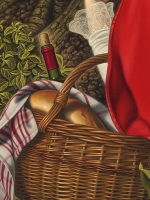 Detail Little Red Riding Hood