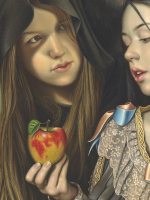 Detail Snow white