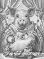 De vegetariër © Michaël Hiep